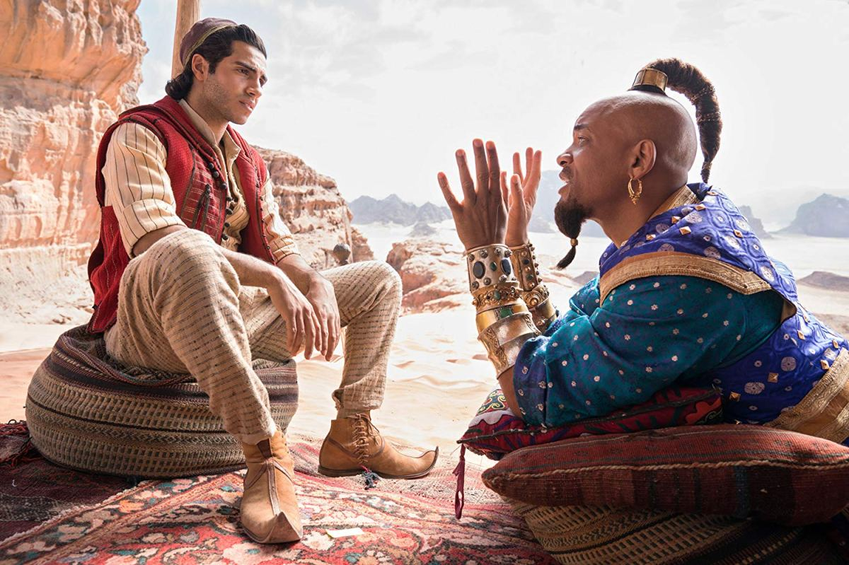 Aladdin Trailer: Aladdin Trailer: Our First Look At Genie (The Real One
