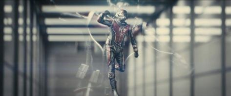 Ant-Man shrinking