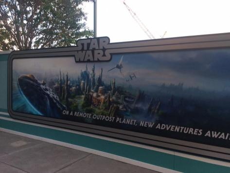 Galaxy's Edge Sign
