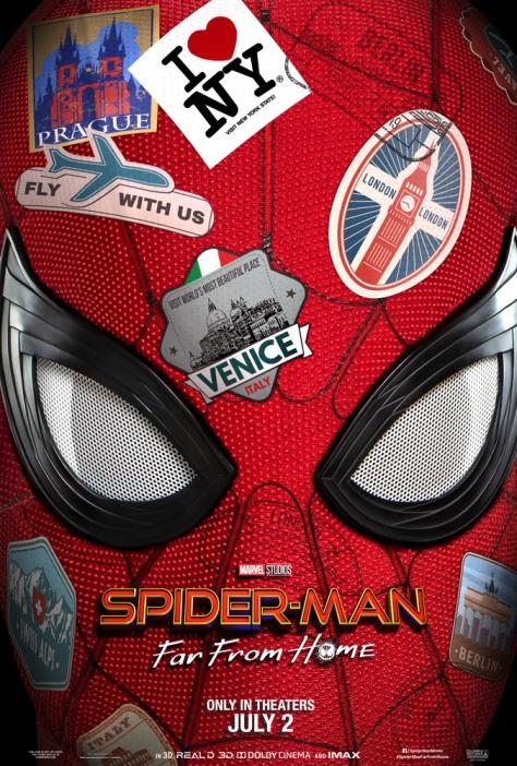 Spider-Man FFH Poster